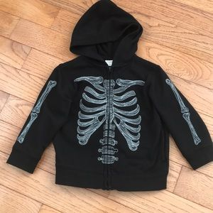 Gymboree Skeleton Jacket